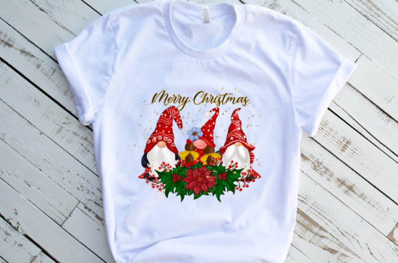 Christmas Gnomes Design  Sublimation Graphic Download