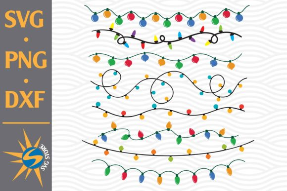 Print on Demand: Christmas Light Graphic Crafts By SVGStoreShop