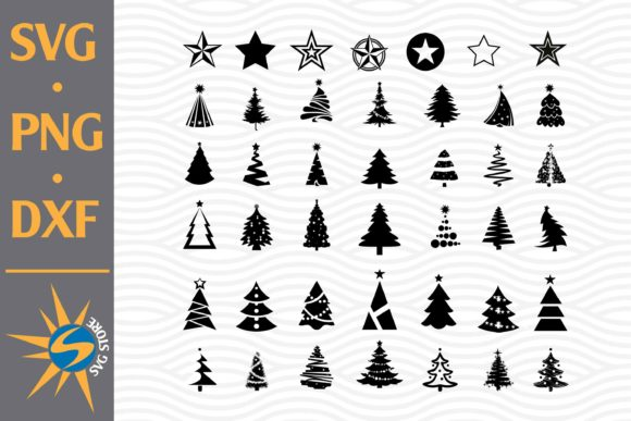 Print on Demand: Christmas Tree Graphic Crafts By SVGStoreShop