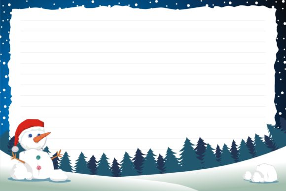 Christmas Background for KDP Interior Graphic KDP Interiors By onoborgol