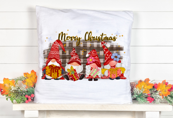 Christmas Gnomes Family Sublimation Graphic Item