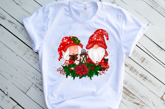 Christmas Gnomes Sweet Sublimation Graphic Download