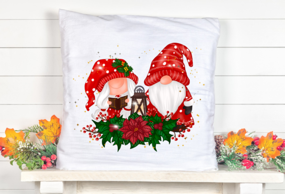 Christmas Gnomes Sweet Sublimation Graphic Item