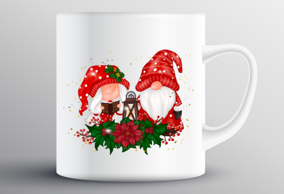 Christmas Gnomes Sweet Sublimation Graphic Design