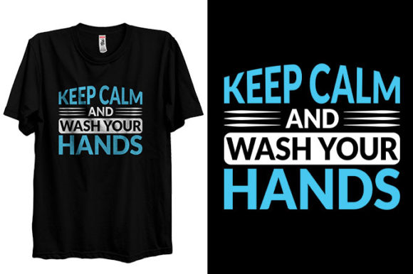 Coronavirus Covid-19 Wash Your Hands Graphic Print Templates By Storm Brain