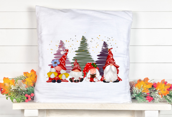Cute Family Gnomes Christmas Sublimation Graphic Item