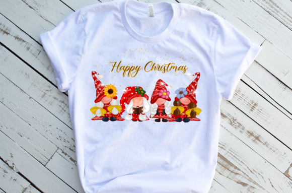 Cute Girl Gnomes Christmas Sublimation Graphic Download