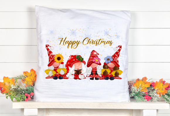 Cute Girl Gnomes Christmas Sublimation Graphic Item