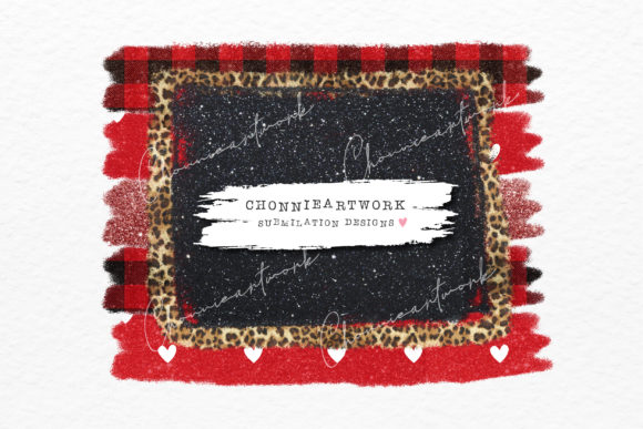 Distressed Christmas Buffalo Plaid Graphic Crafts By Chonnieartwork