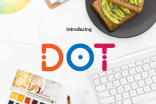 Print on Demand: Dot Display Font By da_only_aan