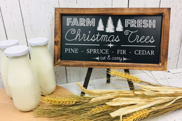 Print on Demand: Farm Fresh Christmas Trees SVG File Graphic Crafts By richardeley1969