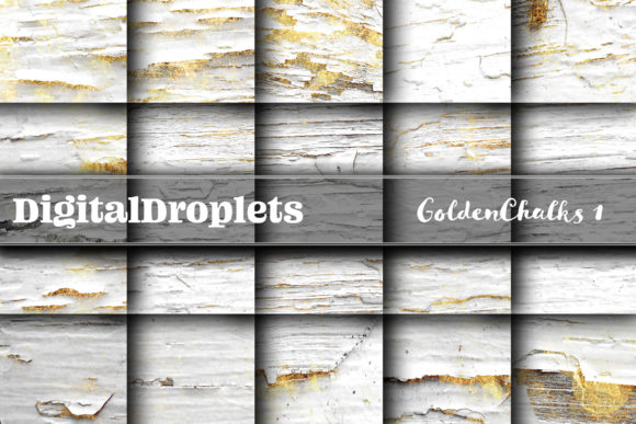 Gilded Weatherboards Graphic Textures By digitaldroplets