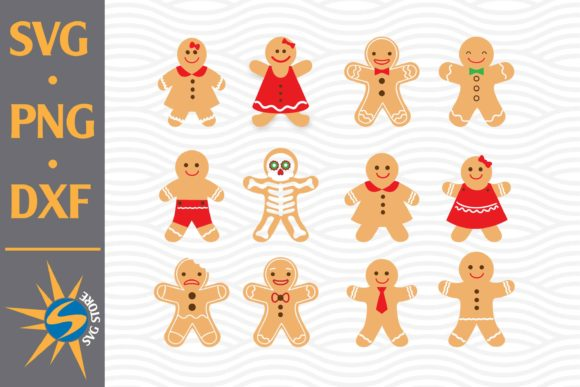 Print on Demand: Gingerbeard Graphic Crafts By SVGStoreShop