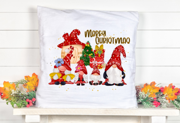 Gnomes Family Christmas Sublimation Graphic Item