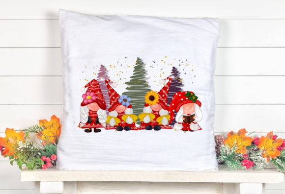 Gnomes Girl Christmas Design Sublimation Graphic Item