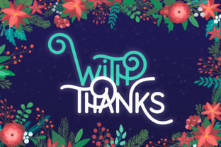 Print on Demand: Holiday Display Font By Salt and Pepper Fonts 2