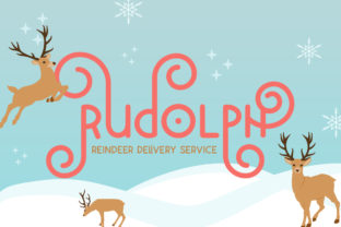 Print on Demand: Holiday Display Font By Salt and Pepper Fonts 3