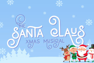 Print on Demand: Holiday Display Font By Salt and Pepper Fonts 4