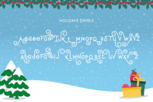 Print on Demand: Holiday Display Font By Salt and Pepper Fonts 6
