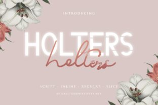 Print on Demand: Holters Script & Handwritten Font By CalligraphyFonts