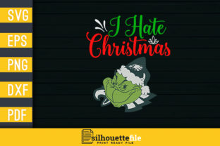 Print on Demand: I Hate Christmas Graphic Crafts By Silhouettefile