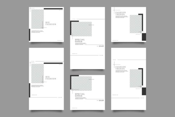 Print on Demand: Instagram Post and Story Template Graphic Graphic Templates By Novendi88