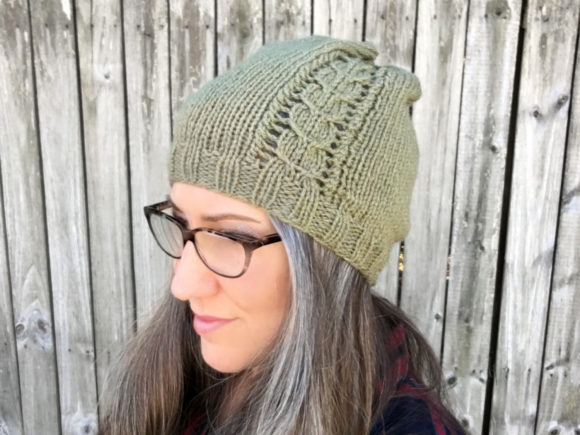 Jefferson Beanie Knit Pattern Grafik Knitting Patterns von Knit and Crochet Ever After