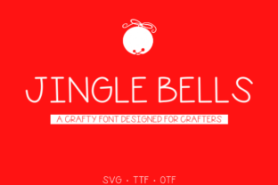 Print on Demand: Jingle Bells Manuscrita Fuente Por Unicorn Creative