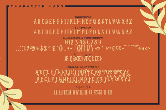 Kalina Starry Font Preview