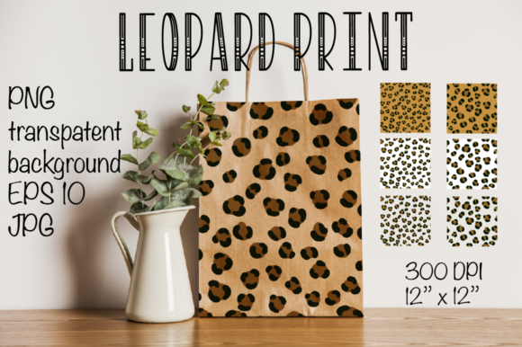 Leopard Pattern- Seamless Leopard Pattern Graphic Backgrounds By Createya Design