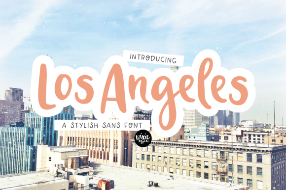Print on Demand: Los Angeles Script & Handwritten Font By dixietypeco