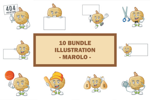 Marolo Bundle Graphic Illustrations By KongVector2020