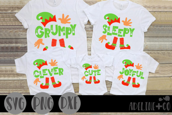 Matching Elf Shirts Graphic Crafts By adelinenco