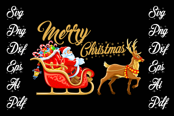 Merry Christmas T-shirt Design. Graphic Print Templates By walidhasan142s