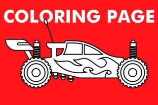 Print on Demand: Monster Super Car Design Graphic Coloring Pages & Books By Mah Moud