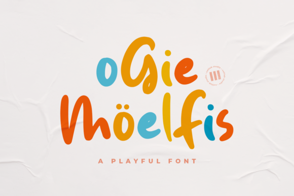 Print on Demand: Ogie Moelfis Display Font By colllabstudio