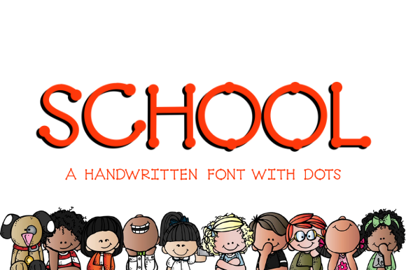 Print on Demand: School Script & Handwritten Font By Sage Makers