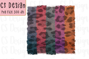 Print on Demand: Sublimation Clipart Leopard Background Graphic Crafts By CSDesign