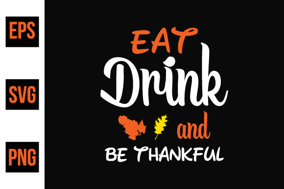Print on Demand: Thanksgiving T Shirt Design Vector Graphic Print Templates By ajgortee