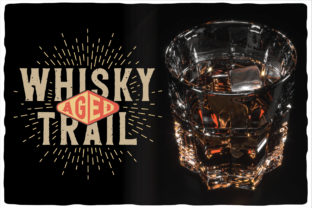 Print on Demand: Whisky Trail Display Fuente Por Vozzy Vintage Fonts And Graphics 4