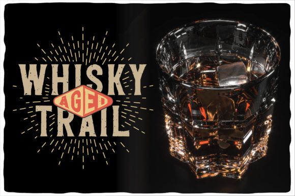Whisky Trail Font Design