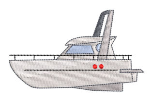 Yacht Sports Embroidery Design By BabyNucci Embroidery Designs 1