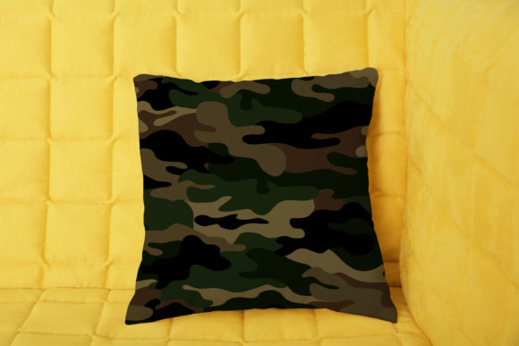 Camouflage Military Seamless Pattern Graphic Patterns By bangkidtete