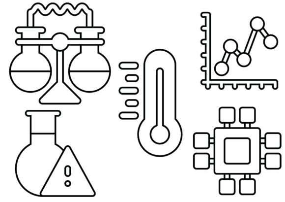 Science Black Graphic Icons By ssiimpti73
