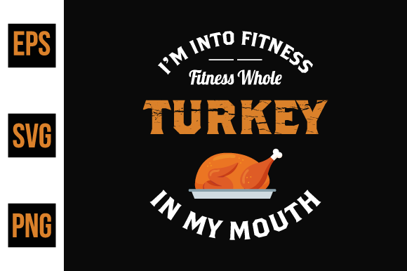 Print on Demand: Thanksgiving Turkey T Shirt Vector Graphic Print Templates By ajgortee