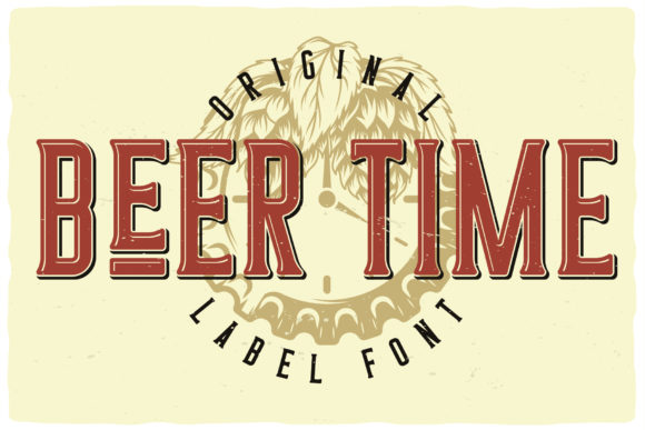 Beer Time Font Preview