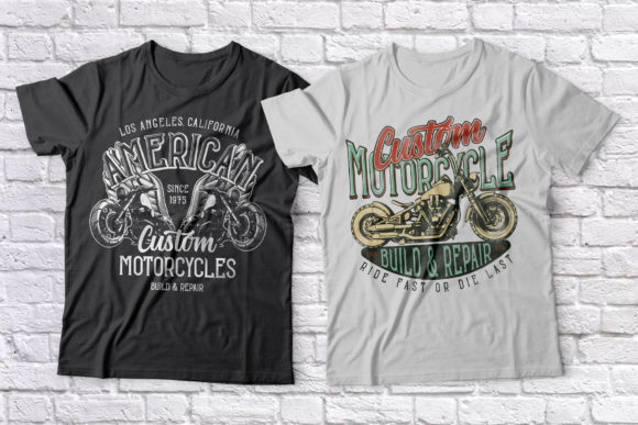 Bobber Motorcycles Font Popular Design