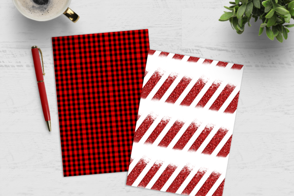 Christmas Digital Paper Pack Graphic Download
