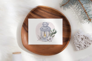 Print on Demand: Christmas Gnome Family Tree Lantern Star Graphic Illustrations By PawStudio 6