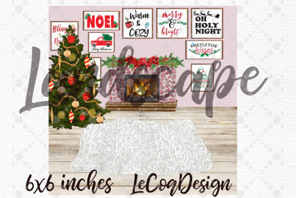 Christmas Plus SIze Family Clipart Graphic Design